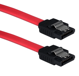 Premium 1-Meter SATA 3Gbps Internal Data Cable with Locking Latch SATA1M-1M 037229115819 Cable, SATA Serial ATA Internal 7Pin Data Cable with Metal Lock/Latch, 7Pin to 7Pin, Red,  1M (40 inch) SATA1M1M SATA1M-1M  cables   inches 3750  microcenter  Rejected