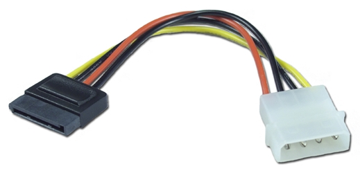 "28 Inches SATA Internal Power Cable SATAP-28 037229115222 Cable, Serial ATA Internal Power Adaptor, 15Pin to 4Pin, 28"" SATAP-28B   669432  SATAP28 SATAP-28 adapters adaptors cables    3778  microcenter Michael Weiler Approved"