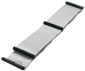"36 Inches SCSI IDC50 Three Drives Ribbon Cable SCSIHD-3 037229939934 Cable, SCSI 50Pin Flat Internal Ribbon, Up to Three Drives, 36"", (4) IDC50S SCSI3SV   702688  SCSIHD3 SCSIHD-3  cables    3808  microcenter Michael Weiler Approved"