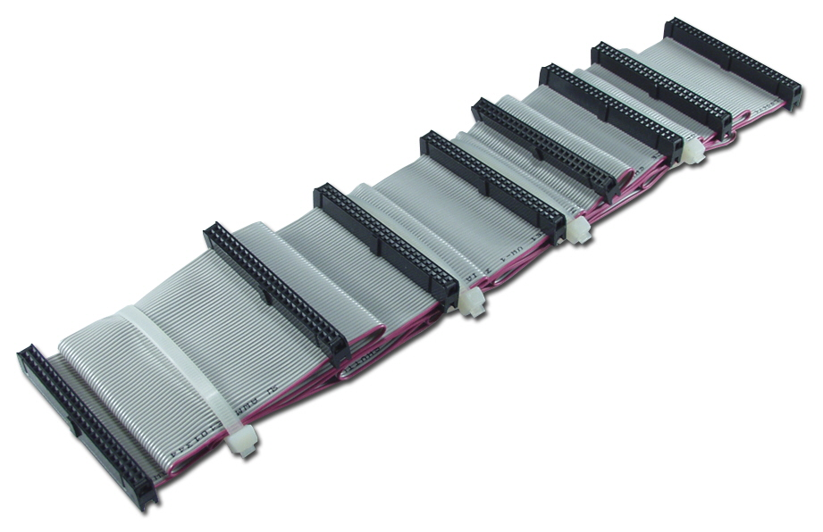 "66 Inches SCSI IDC50 Seven Drives Ribbon Cable SCSIHD-7 037229939972 Cable, SCSI 50Pin Flat Internal Ribbon, Up to Seven Drives, 66"", (8) IDC50S 666214  SCSIHD7 SCSIHD-7  cables    3809  microcenter Eshelman Discontinued"