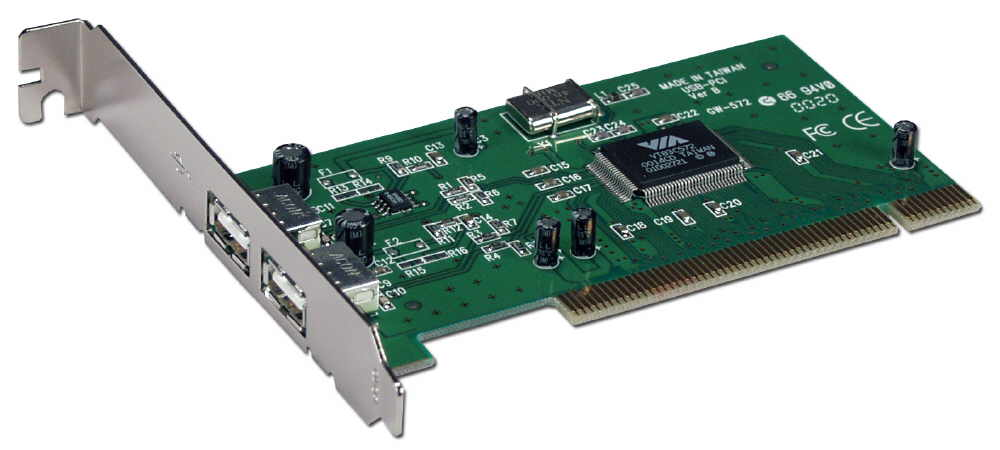2Port USB Compliant PCI Card UC-100 037229405491