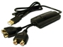 3ft USB to Audio & Video Capture Adaptor Cable USB-AV 037229221206 USB to PC Audio/Video Multimedia Capture Adaptor, PC Windows Only GA-VD200 162594  USBAV USB-AV adapters adaptors     3884  microcenter  Discontinued