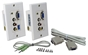 PC/VGA & Composite Video with Stereo Audio CAT5e Wallplate 30-Meter Extender Kit VARCA-1P 037229007145 AV Dual-CAT5e Decora Wallplate Extender Kit with PC VGA/Video and Composite RCA plus Stereo Audio, 30Meters/100ft WCAV-EJN  CB4722 VARCA1P VARCA-1P   feet foot meters  2002 IMCE