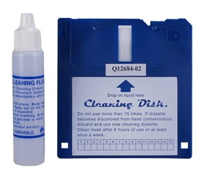 "3.5 Inches Disk Drive & Fluid Cleaning Kit for PC or Apple CA239 037229312393 Cleaning Kit - 3?"" Disk, Fluid & Disk CA239 CA239      2232"